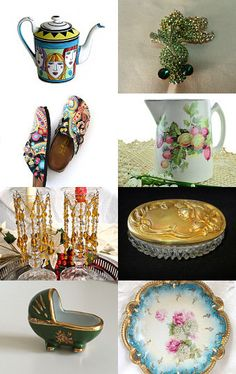 Vintage Passion Team Presents:  New Members, Let's Party!!! by absolutenecessity4u on Etsy--Pinned with TreasuryPin.com