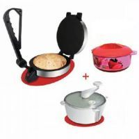 Electric Roti Maker + Atta Maker + Hotpot (Combo) Kitchen Utilities, Electric, Shopping