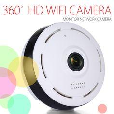 33.25$  Watch here - http://alikza.shopchina.info/go.php?t=32768884880 - 2016 NEWST 360 Degree Panoramic Cctv Camera Smart IPC Wireless IP Fisheye Camera P2P 960P HD Security Home Wifi Camera 33.25$ #buychinaproducts