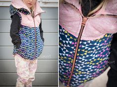 Gilet for Kids - Weste - diy - sewing - nähen - german