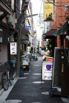 Tokyo Alley by drkigawa, via Flickr