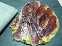 Piadinas con jamón ibérico - Desafío en la cocina