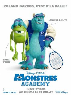 Monsters University (2013, France)