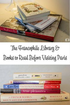 In my francophile library, I have tons of books on France, Paris, French culture, studying French language and plain old books in French. Books for francophiles. Gift Guide for frenchies.