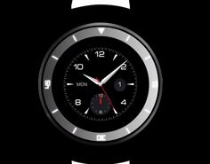 LG will reveal a circular smartwatch next week to compete with the Moto 360