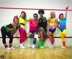 Workout Outfit Idea get ready to slip on your spandex with these workout Workout Outfit. Here is Workout Outfit Idea for you. Workout Outfit create an aerobics fashion lo. 80s Costume, 80s Workout Costume, 80s Party Costumes, 80s Halloween Costumes, Halloween Kostüm, Costume Ideas, 80s Fashion, Party Fashion, Fashion Trends