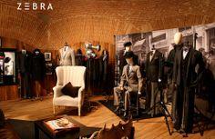 Estand para Hackett en la feria bianual de moda Pitti, en Florencia. Año 2008.