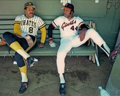 Willie Stargell, Pittsburgh Pirates, and Willie McCovey, San Francisco Giants
