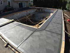 Concrete Tools, Concrete Path, Concrete Patio Designs, Concrete Driveways, Concrete Projects, Stamped Concrete, Backyard Projects, Ceramica Exterior, Patio Images