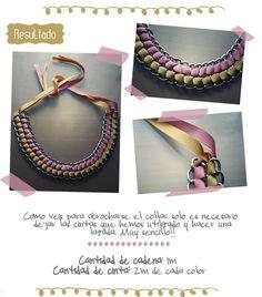 chiribambola: Collares DIY