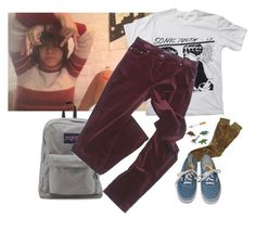 """irl best friend looks!!"" by loser99 ❤ liked on Polyvore featuring Floyd, Anonymousism, Georges Rech and Vans"