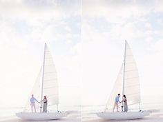 sailboat engagement <3