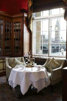 High Tea at the Library Lounge