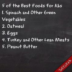 Here are are my Top 5 favorite foods to eat to build for better Abs. No matter how many core exercises you do. You MUST Eat Right. Abs are made in the kitchen and some people are just Blessed. Eat six. Foods For Abs, Foods To Eat, How To Stay Healthy, Healthy Life, Healthy Eating, Healthy Foods, Clean Eating, Healthy Recipes, Ab Diet