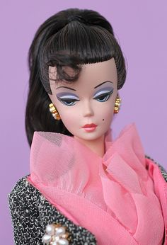 A Model Life giftset Barbie close-up!