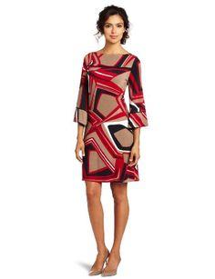 Evolution by Cyrus Women's Boat Neck Dress