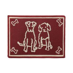 PB PAWS PET COLLECTION BY PARK B. SMITH Dog Treats Tapestry Indoor Outdoor Pet Mat *** To view further for this item, visit the image link.