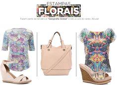 Flower Power: Aposte nas estampas florais em roupas e acessórios