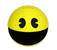 Pac-Man Moneybox with Sound - http://coolgadgetsmarket.com/pac-man-moneybox-with-sound-2/