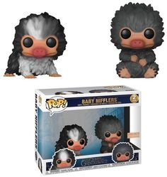 Fantastic Beasts: The Crimes of Grindelwald Baby Nifflers Funko Pop! Harry Potter Pop Figures, Funko Pop Harry Potter, Funko Pop Dolls, Pop Figurine, Funk Pop, Crimes Of Grindelwald, Otaku, Pop Toys, Funko Pop Vinyl