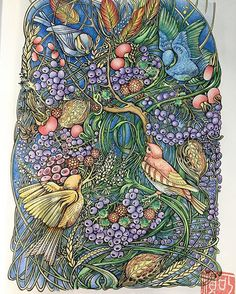 #manicbotanic #zifflin #zifflinscoloringbook #Zifflin #irinavinnik #tombow…