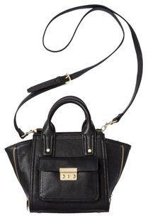 3.1 Phillip Lim Crossbody Bag - Satchel in Black, Gold