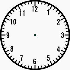Blank Clock Face | Loving Printable