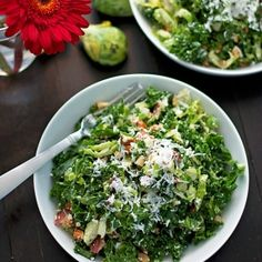 Kale And Brussels Sprouts Salad [B.Britnell] eat365.com.au