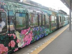 They should paint the metro this way in delhi. Ppl will be so much happier, no?