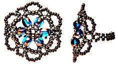 Bijuterias feitas com lindas miçangas, linha e seus acabamentos. Ideias criativas epasso a passo em gráficos