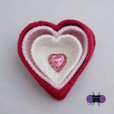 Blackstone Designs: Heart Nesting Baskets