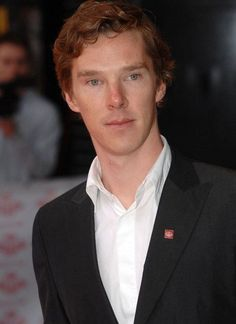Did you know Benedict Cumberbatch has red hair?