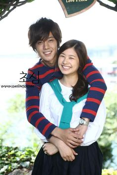 Kim Hyun Joong como Baek Seung Jo y Jung So Min como Oh Ha Ni. Playful Kiss, O Drama, Drama Fever, Jung So Min, Korean Drama Movies, Korean Actors, Korean Dramas, Asian Actors, Leonard Dicaprio