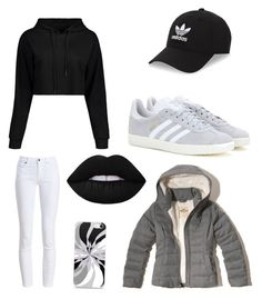 """""""Untitled #6"""" by maren-juli on Polyvore featuring Barbour, Hollister Co., adidas Originals and adidas"""