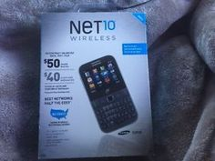 Net10 Samsung S390G Wireless Prepaid Cell Phone Smartphone - Qwerty Keyboard  | eBay