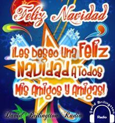 Feliz navidad a todos mis amigos y amigas.... ~ Radio Palomo