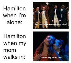 Hamilton Broadway, Hamilton Musical, Stupid Funny Memes, Funny Relatable Memes, Theatre Jokes, Theater, Hamilton Pictures, Hamilton Lin Manuel Miranda, Alexander Hamilton