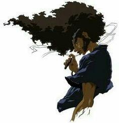 Afro Samurai, Samurai Art, Chris Brown Art, Boondocks, Afro Art, Cover Tattoo, Black Power, Forearm Tattoos, Black Art