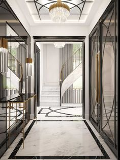 Residence VI « Susan Strauss Design Top NJ Interior Design Firm Residential and Commercial Palace Interior, Luxury Homes Interior, Home Interior Design, Interior Architecture, Light Architecture, Foyer Design, Lobby Design, House Design, Hallway Designs