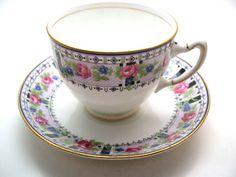 Rare Star Paragon Tea Cup and saucer, Art Deco, Star Paragon 1918's