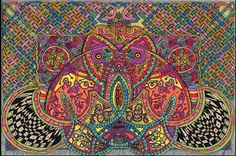 Celtic Knotwork Mandala Trippy Art Psychadelic by CelticMandala
