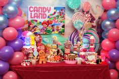 Willy Wonka & Candyland Birthday Party Ideas | Photo 1 of 41