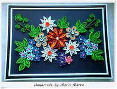 Quilling art by Marta Marin: Tablou Quilling Nr.16