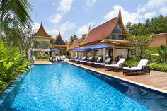 Modern Thai style architecture . Luxury home Koh Samui