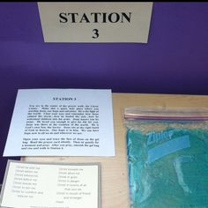 (Link takes you nowhere) Prayer station: drawing Jesus' face in Gel within ziplock pouch Bible School Crafts, Sunday School Crafts, Prayer Ministry, Women's Ministry, Jesus Calms The Storm, School Prayer, Prayer Stations, Calming The Storm, Spiritual Formation