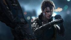 Streets of Rage by shuo SHI : Cyberpunk Cyberpunk 2077, Cyberpunk Kunst, Character Concept, Character Art, Concept Art, Character Design, Character Reference, Character Portraits, Science Fiction