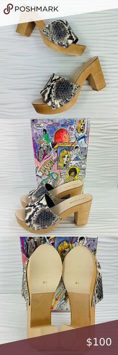Hippie Vibes, Boho Hippie, Clog Sandals, Women's Shoes Sandals, Modern Boho, Jeffrey Campbell, Chunky Heels, Open Toe, Platform