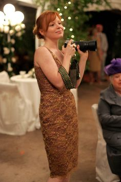 Lauren Ambrose playing Claire on Six Feet Under