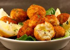Chef Chuck's Fried Cod Fish Balls