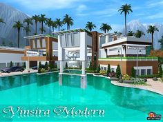 adc modern house by autaki sims 3 downloads cc caboodle sims 3